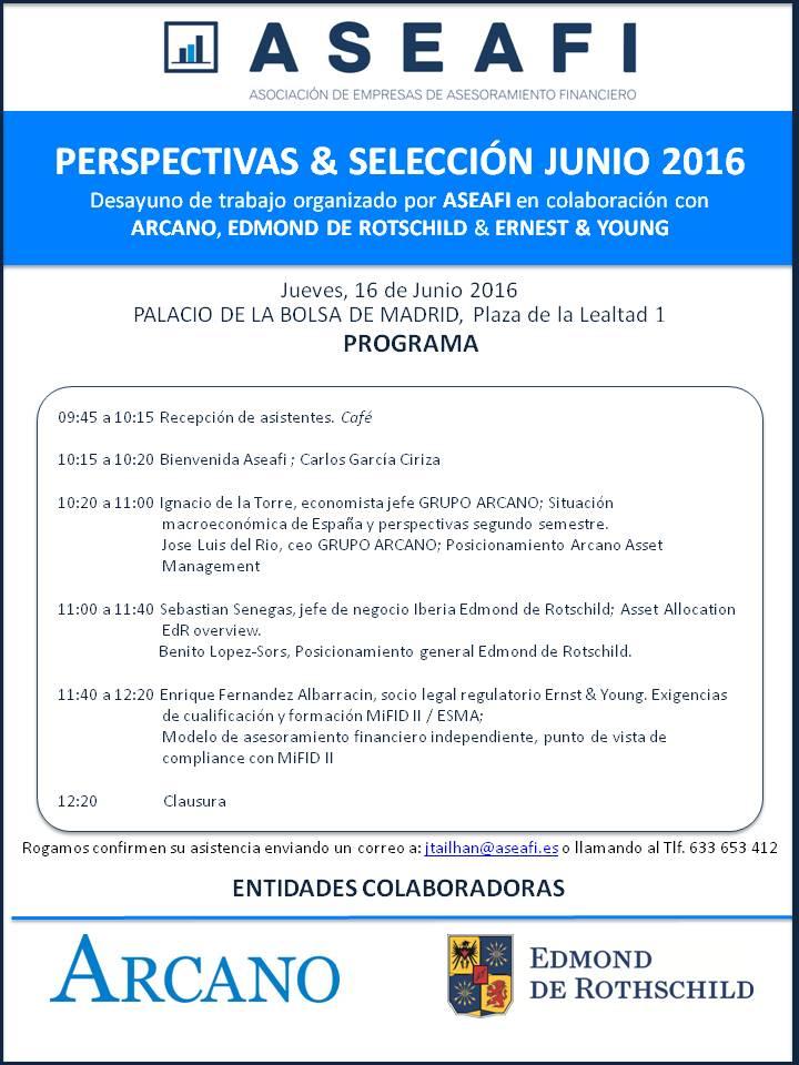 Evento 16 de Junio 2016